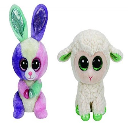 7915b05cf84 Ty Easter Beanie Boo Bloom And Lala Set - Walmart.com