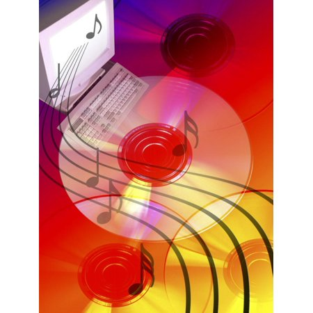 Music Coming Out from MP3 System Print Wall Art By Carol & Mike Werner](Halloween Carols Mp3)