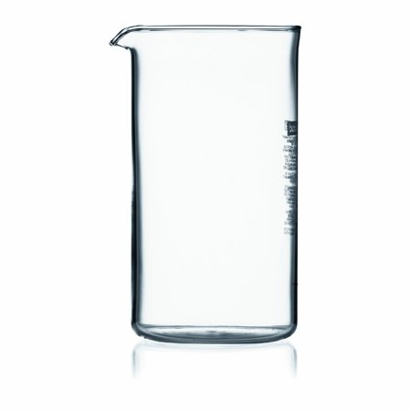 Bodum Replacement Beaker (Bodum Replacement Beaker 3 cup, 12 ounce US, .35 litre, 1.5 Cup US Fits Press)