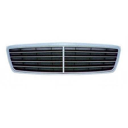 NEW FRONT GRILLE CHROME BLACK FITS 2003-2007 MERCEDES-BENZ C230 20388001839040