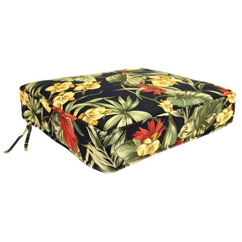 Jordan Manufacturing Floral Outdoor Deep Seat Cushion, Multiple Patterns
