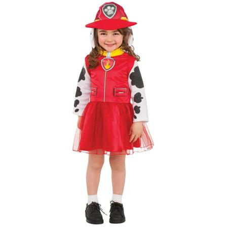 Nickelodeon Halloween Costume (Girls Marshal Paw Patrol Child Halloween Costume Nickelodeon Medium)