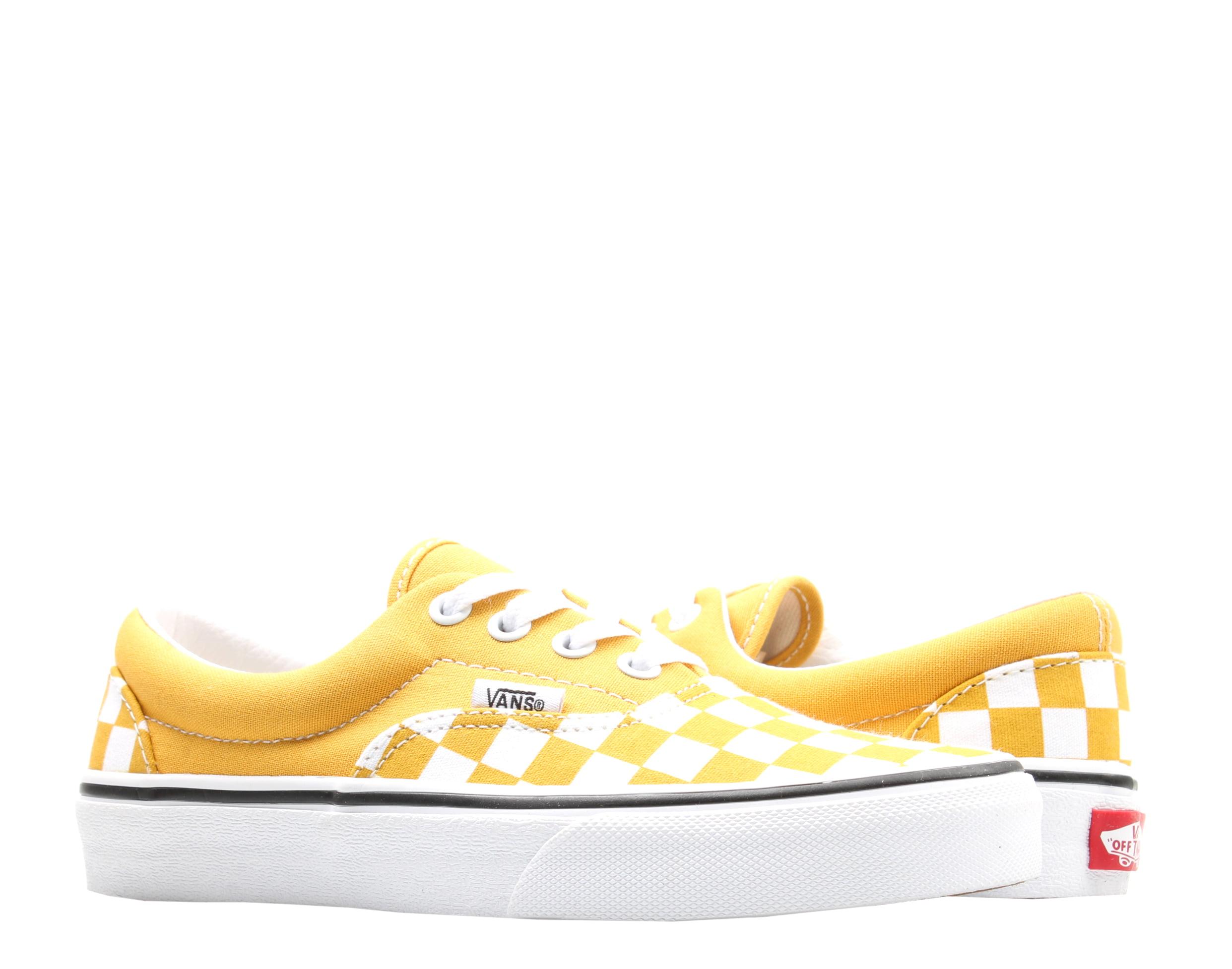 Vans Era Checkerboard Yolk Yellow/True