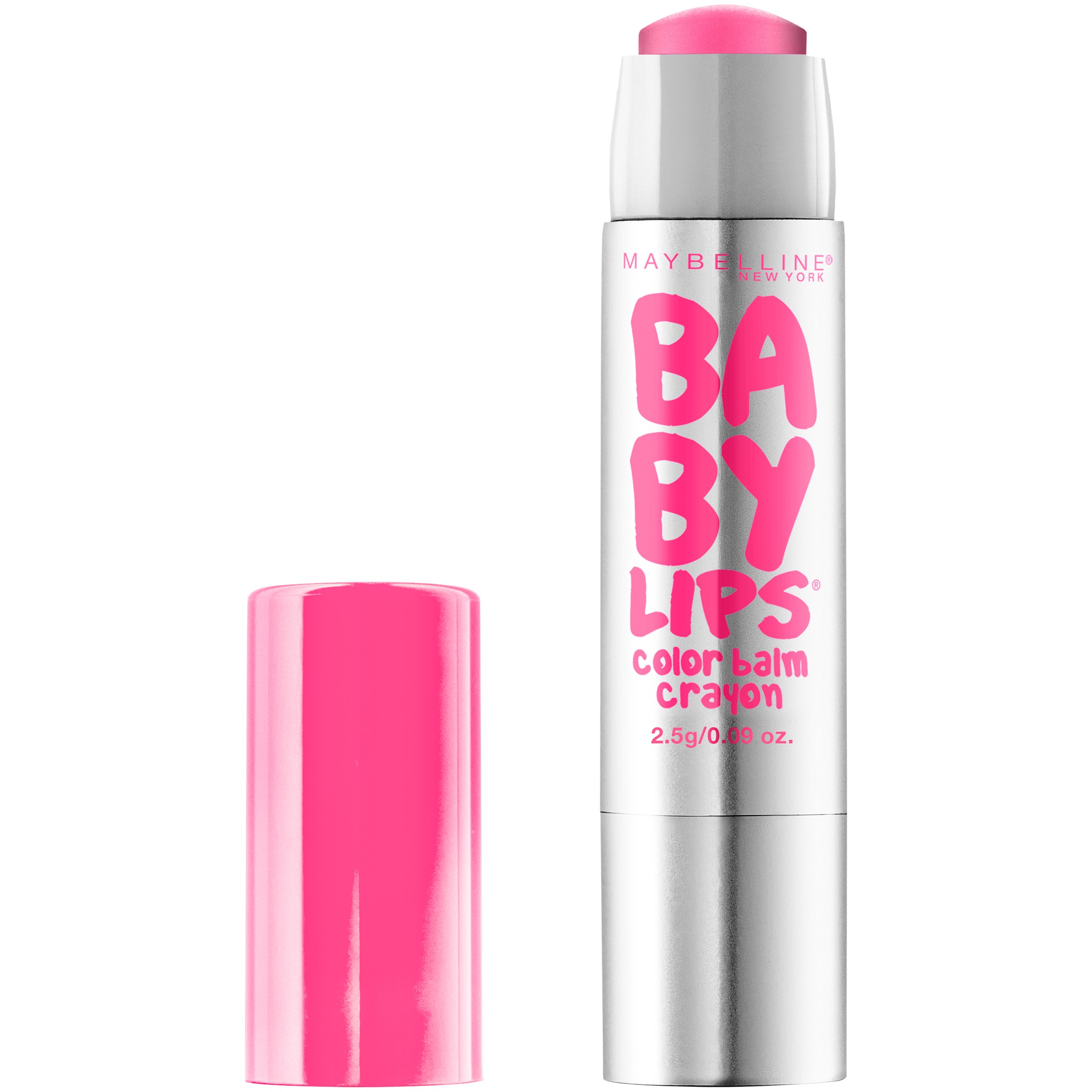 Maybelline New York Baby Lips Color Balm Crayon, Blush Burst