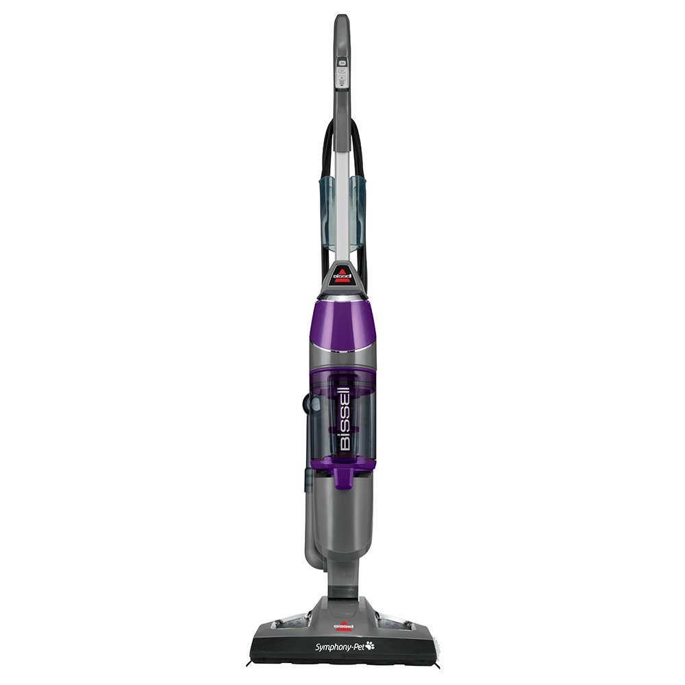 Bissell Symphony Vacuum And Steam Mop With 2 Mop Pads 1132