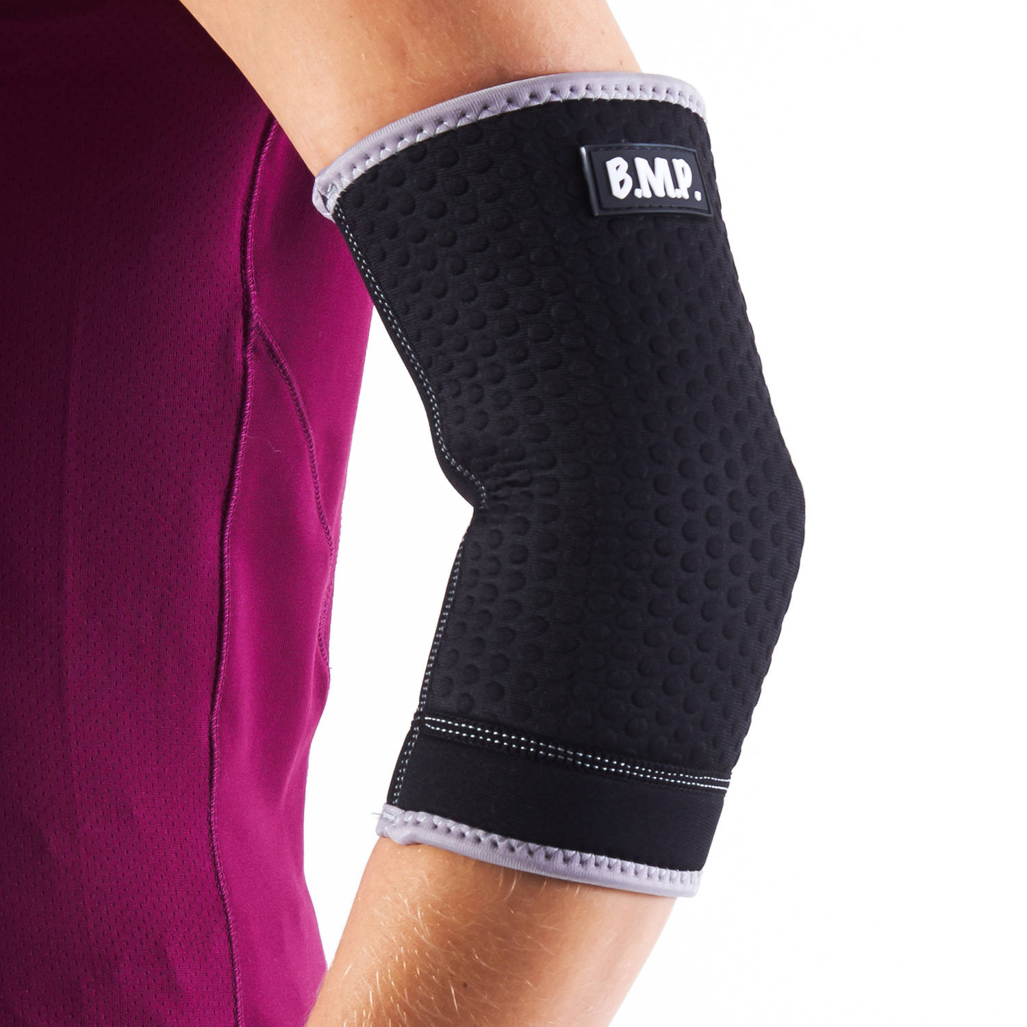 Black Mountain Products Extra Thick Warming Elbow Brace/Elbow Compression Sleeve