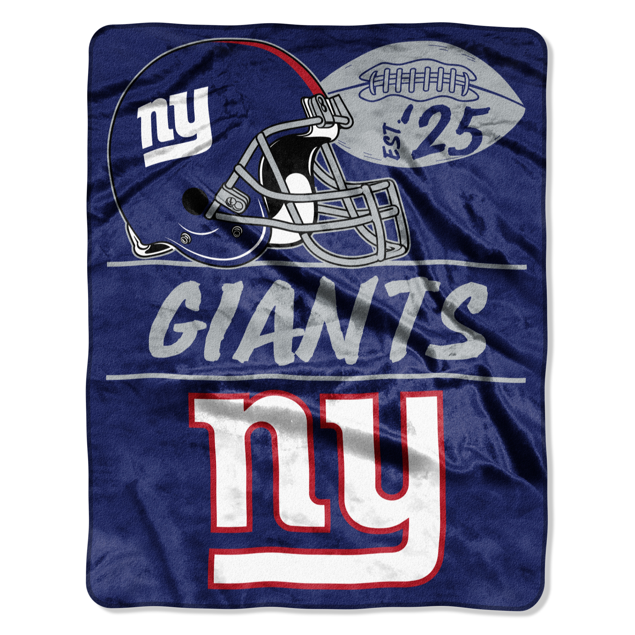 "NFL New York Giants ""Conference"" 55"" x 70"" Silk Touch Throw, 1 Each"