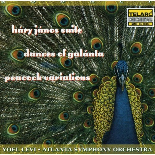 Z. Kodaly - Kod Ly: H Ry J Nos Suite; Dances of Gal Lanta; Peacock Variations [CD]