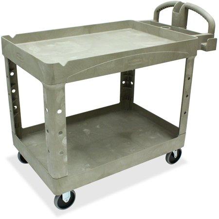 Rubbermaid Commercial, RCP452088BG, Two Shelf Service Cart, 1 Each, -