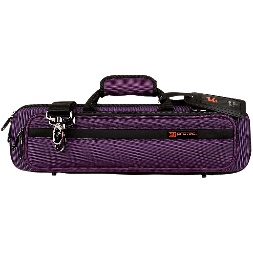 Protec Slimline Flute PRO PAC Case Purple