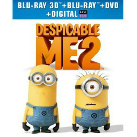 Despicable Me 2  With 3 Mini Movies   Blu Ray   Blu Ray   Dvd