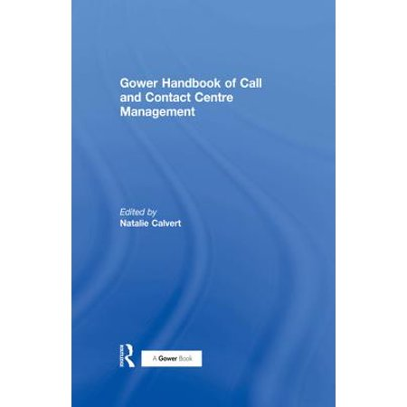 Gower Handbook of Call and Contact Centre Management - eBook