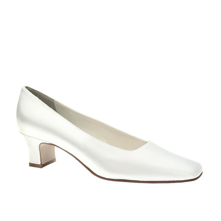 Touch Ups Womens Betty White Satin 8.5 (Touch Ups Satin Pumps)