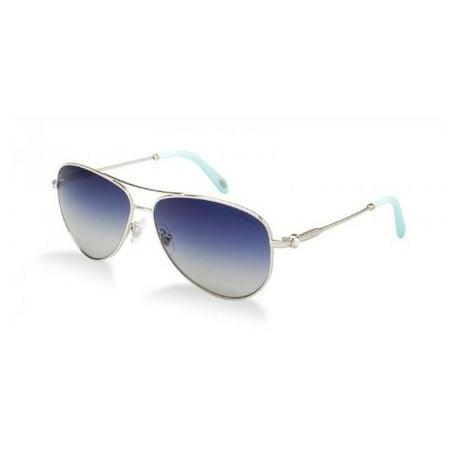 Tiffany TF3043H 60374L 58MM Silver Frame/Blue Gradient Lens (Tiffany Mens Sunglasses)