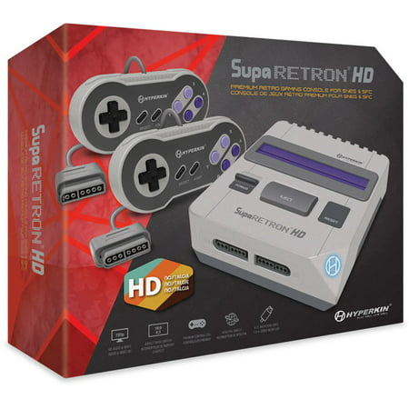 SupaRetroN HD Gaming Console for SNES/ Super (Best Emulators For Retropie)