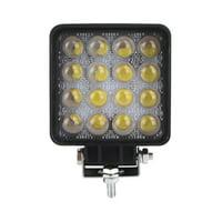 "10X 48W Spot LED Light Work Lamp Driving Fog Offroad SUV 4WD Auto Boat Truck 5D+"""