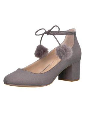 b0263d59d95 Product Image Charles by Charles David Womens Libby Pom Pom Round Toe Pumps