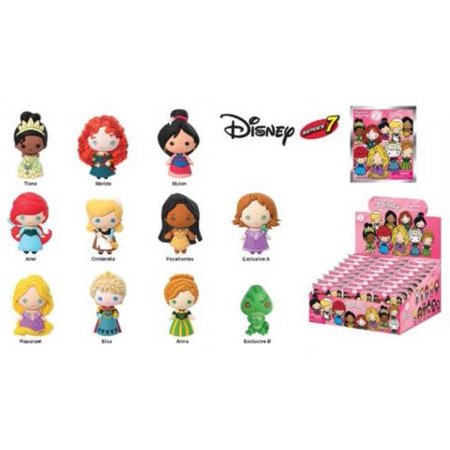 Key Chain   Disney   Series 7 3D Pvc Foam Collectible Blind Box New Toys 86080