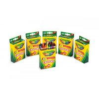 Crayola 24 Count Crayons 6 Pack Bundle Totaling 144 Crayons