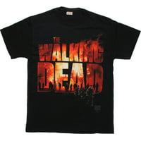 Walking Dead Fire Name Walkers T-Shirt