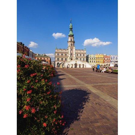 Market Square and City Hall, Old Town, UNESCO World Heritage Site, Zamosc, Lublin Voivodeship, Pola Print Wall Art By Karol Kozlowski](Old World Market Halloween)