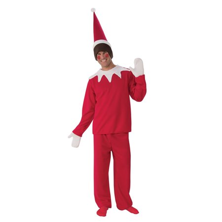 Halloween Sitting Elf Man Adult Costume](Male Elf Costumes)