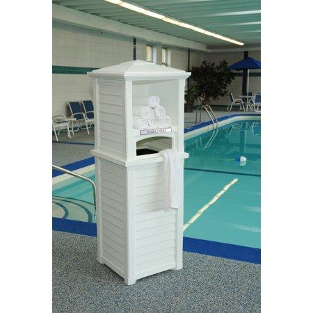 Mayne Towel Valet White Product Photo