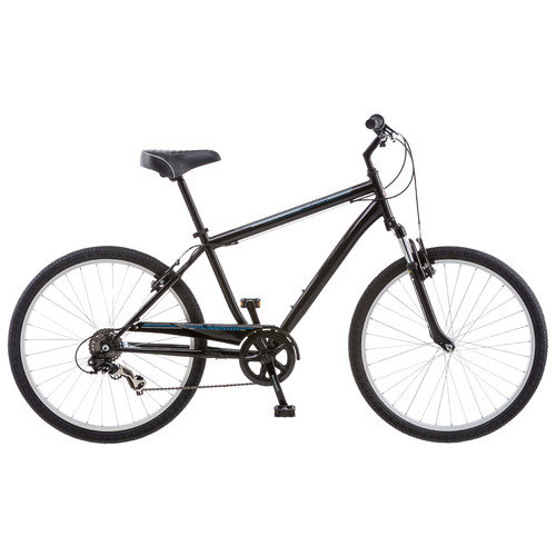 Schwinn 26 inches Men's Suburban Comfort Bike Bicycle - Black