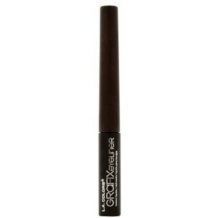 3 Pack - L.A. Colors Grafix Liquid Eyeliner, Dark Brown 0.3