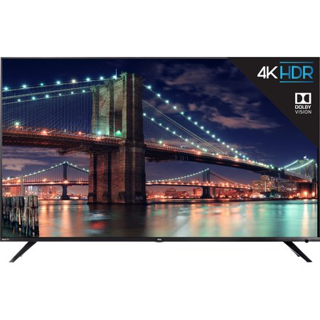 "TCL 55"" Class 4K Ultra HD (2160p) Dolby Vision HDR Roku Smart LED TV (55R617)"