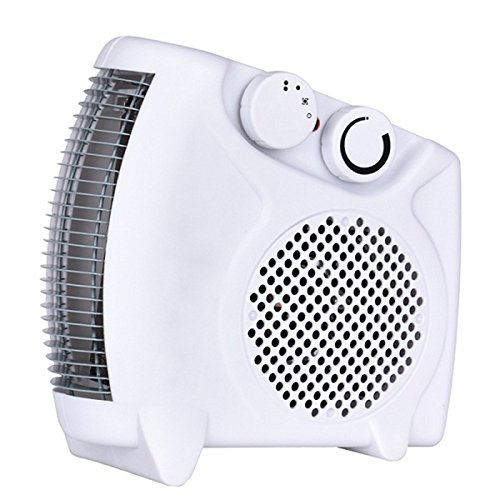 1500W Portable Space, Heater Desktop with 2 Heat Settings, Cool Air Function & Adjustable Thermostat