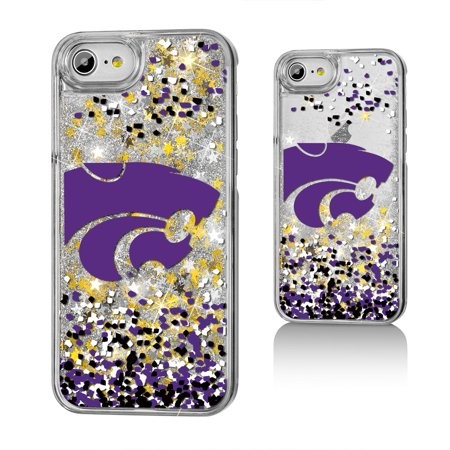 KS Kansas State Wildcats Confetti Glitter Case for iPhone 8 / 7 / 6 ()