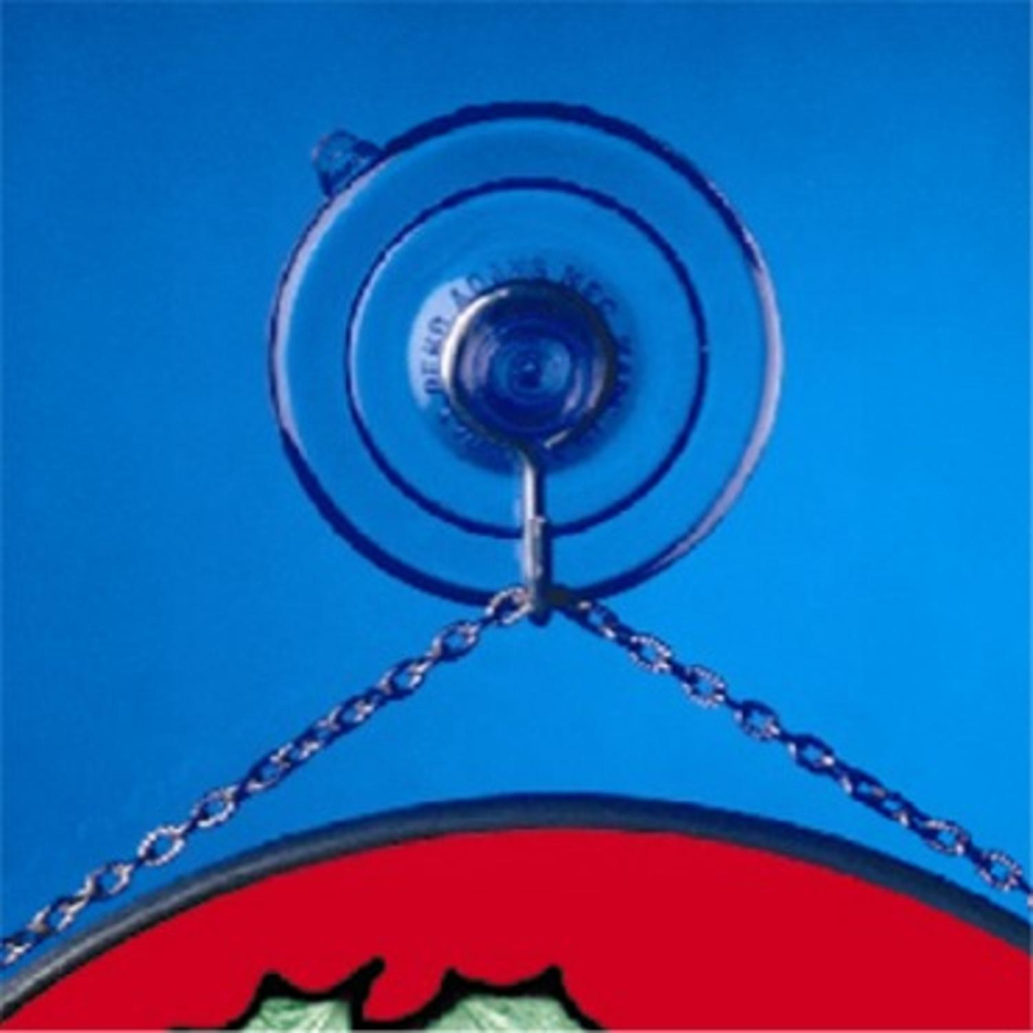 Pack of 3 Suction Cups for Hanging christmas Decorations - Medium