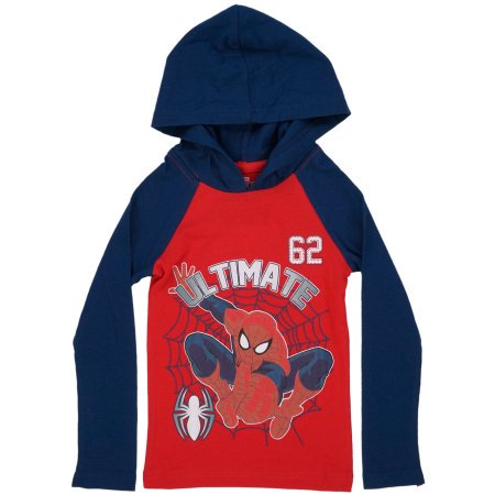 Marvel Spiderman Ultimate 62 Toddler Pullover Hoodie Red (3T) W9A (Toddler Spiderman Costume 3t)