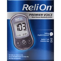 ReliOn Premier VOICE Blood Glucose Monitoring System