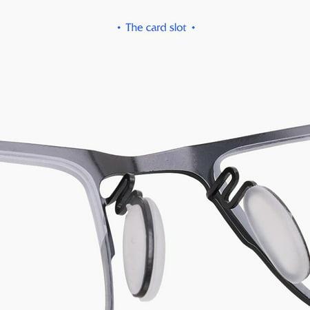 Progressive multi-focus metal solderless point automatic zoom reading glasses - image 1 of 10