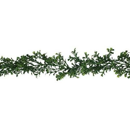 Boxwood Garland Christmas Decoration (Faux Boxwood Garland)