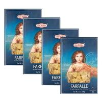 (4 Pack) Gia Russa Farfalle Enriched Macaroni, 12 oz