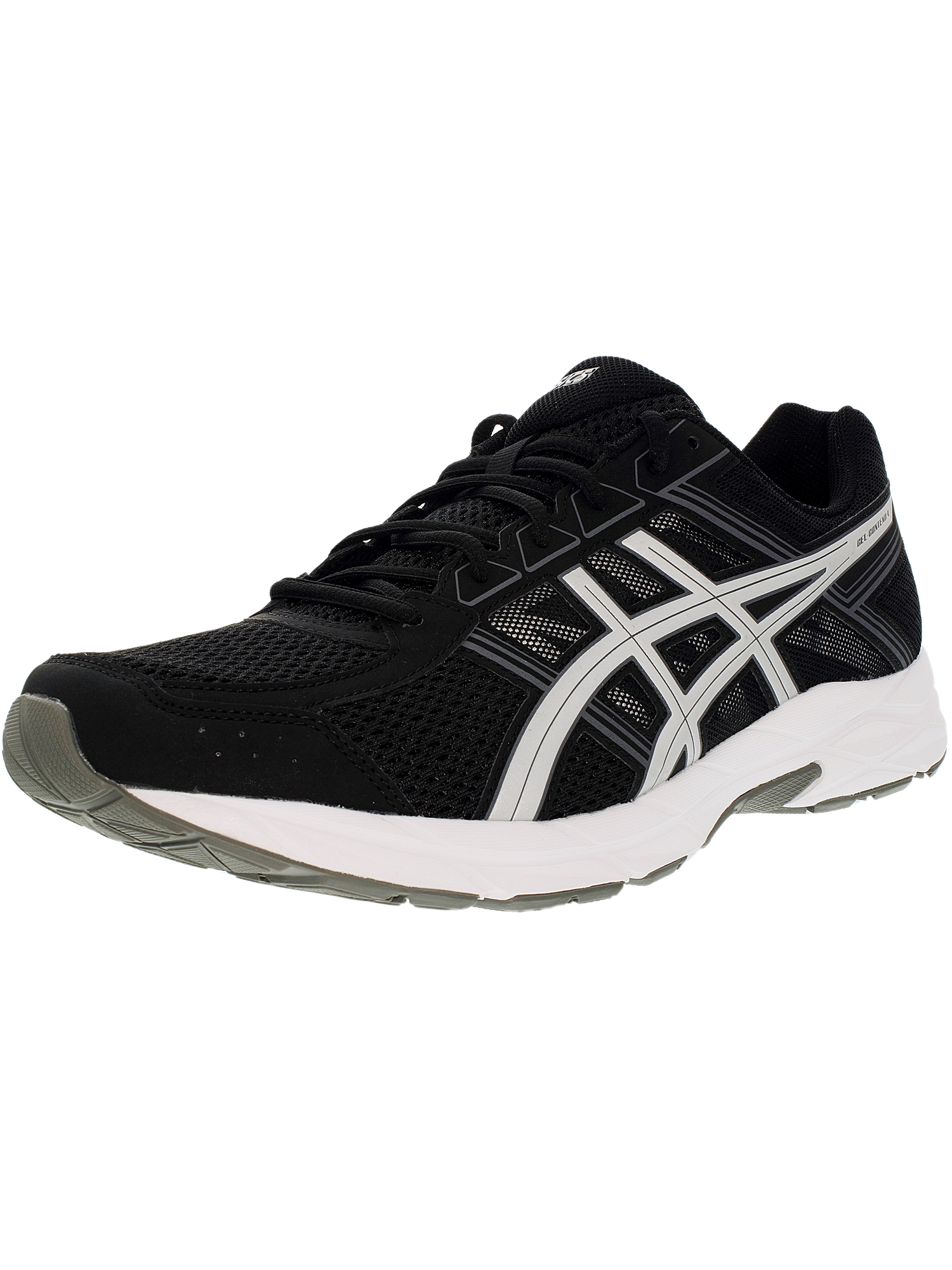 ASICS Asics Men's Gel Contend 4 BlackSilverCarbon Ankle High Running Shoe 13W