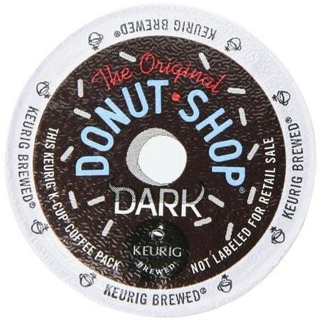 Donut Dark Roast Extra Bold Coffee K Cups 12 Ct