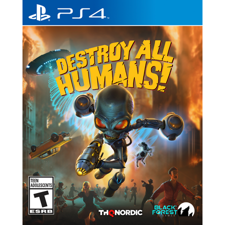 Destroy All Humans!, THQ-Nordic, PlayStation 4, 811994022189