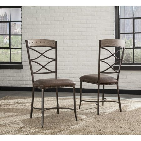 Hawthorne Collections Dining Chair in Washed Gray (Set of 2) - image 1 of 4