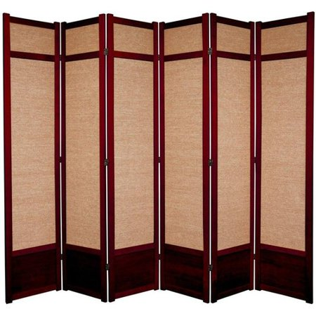 Incredible Oriental Furniture 83 5 X 86 Jute Shoji 6 Panel Room Best Image Libraries Weasiibadanjobscom