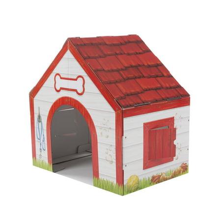 Melissa & Doug Doghouse Plush Pet Indoor Corrugate