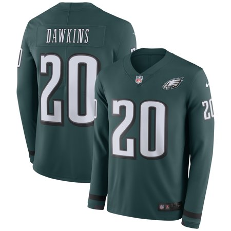 Brian Dawkins Philadelphia Eagles Nike Therma Long Sleeve Jersey -