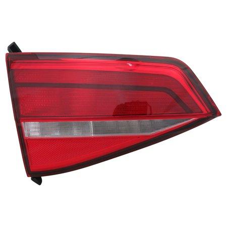 TYC 17-5562-00-9 CAPA Tail Light Lamp Rear Left Inner LH On Lid, w/o LED Lamps