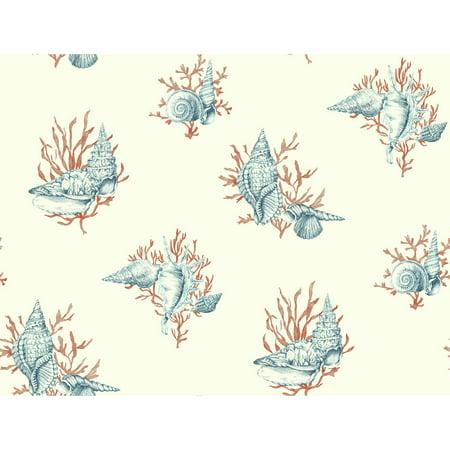 Ashford Toiles Shell Toile Wallpaper