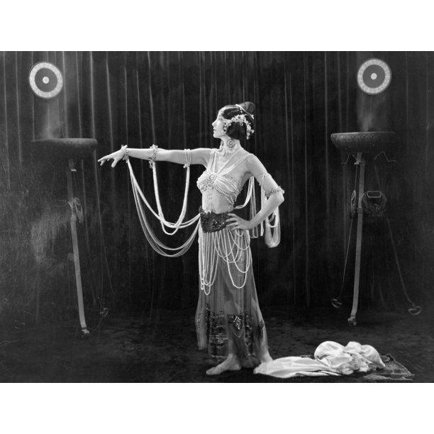 Silent Film Still Woman By Granger: Silent Film Still: Costume. Poster Print By Granger
