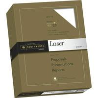 Southworth, SOU3172410, Laser Paper, 500 / Box, White