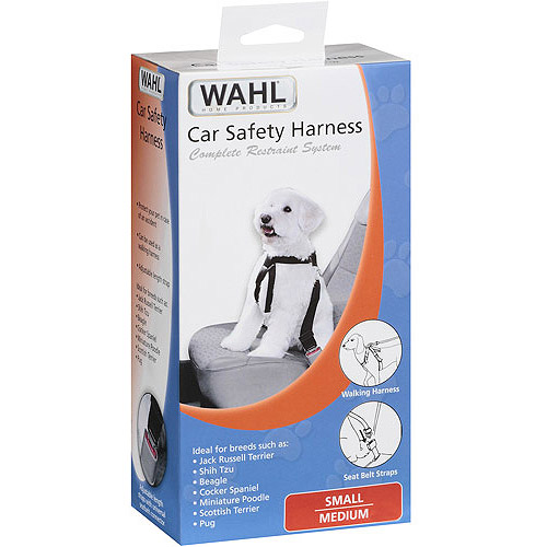 Wahl Car Pet Safety Harness, Multiple Sizes Available